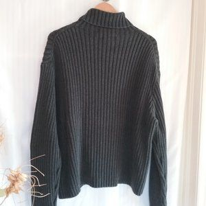 Polo by Ralph Lauren Fishermen's Sweater Grey. XL